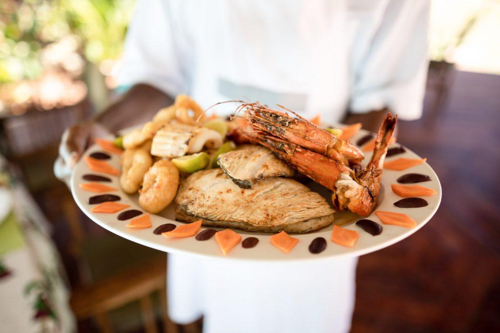 Aluna Nungwi | Restaurant | Seafood Platter